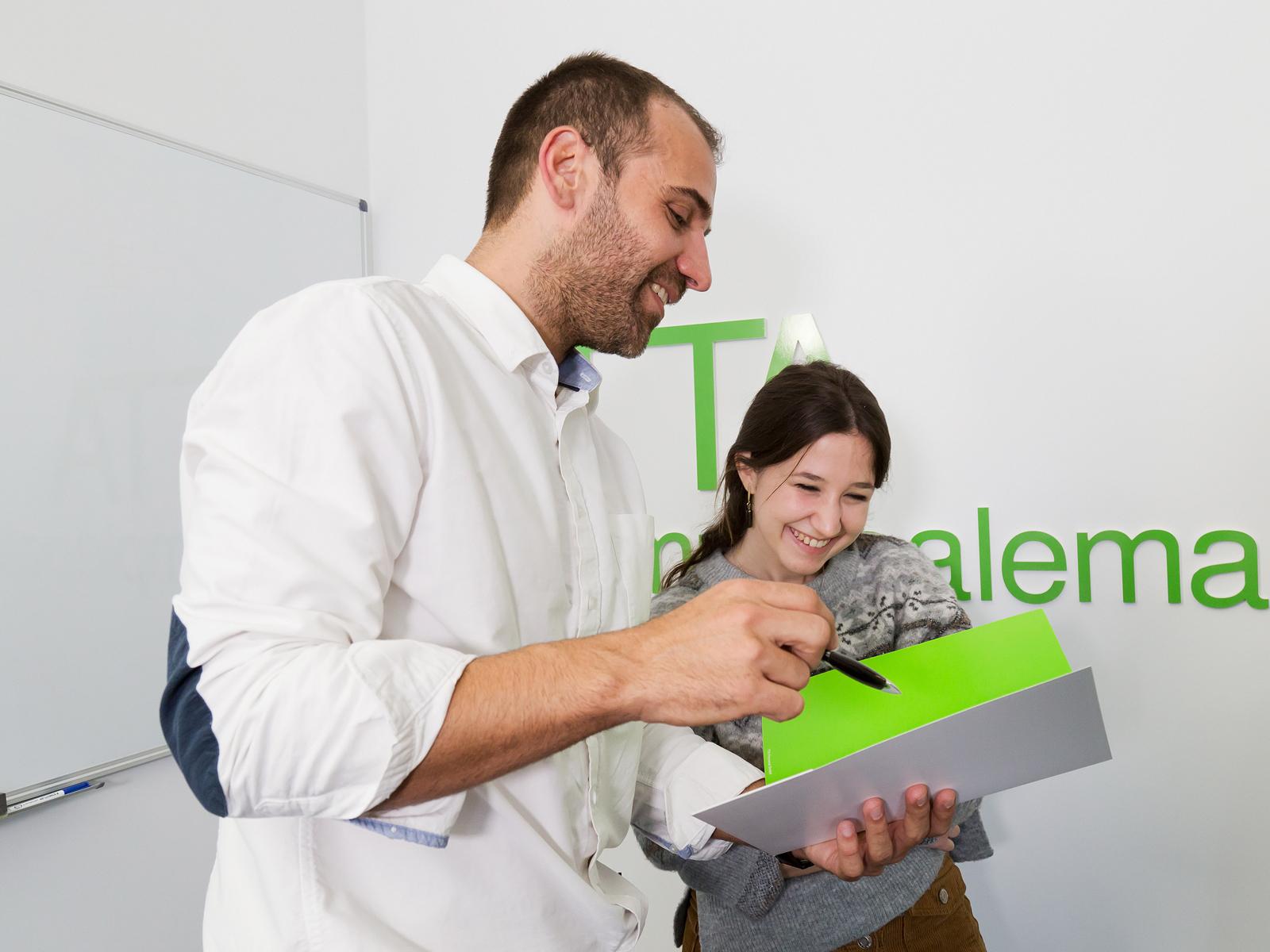 La formación unida al empleo en Alemania