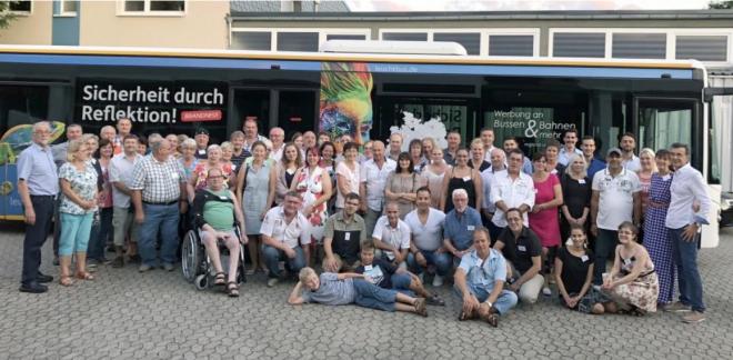 Choferes autobús Alemania